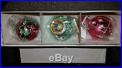 15th anniversary Christopher Radko Favorites Vintage Christmas ornaments glass