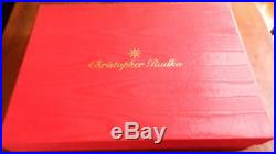 1990's Christopher Radko Christmas Ornament Set Snow White 7 Dwarfs. MINT COND