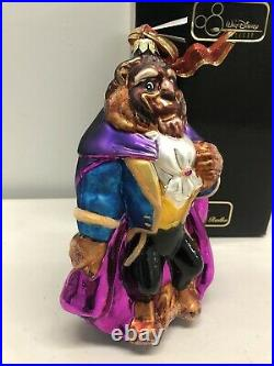 1998 Christopher Radko BEAST Beauty & the Beast Ornament New #2302