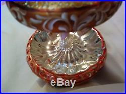 1999 Christopher Radko Carousel of Dreams Blown Glass Christmas Ornament 10 Inch