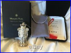 1999 Christopher Radko Christmas Guard Sterling Silver Pin And/Or Ornament #540