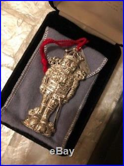 1999 Sterling Silver Ornament Christmas Guard by Christopher Radko