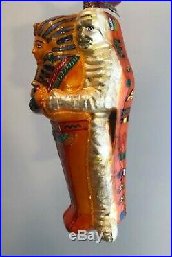 2004 Christopher Radko RISE N SHINE Mummy Halloween Ornament 20th Anniversary