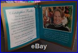 Alice in Wonderland Fantasyland Christopher Radko Disney Ornament RARE