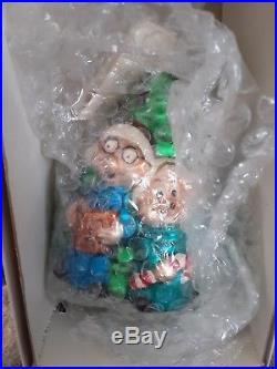 Alvin And The Chipmunks Christopher Radko Designer Ornament