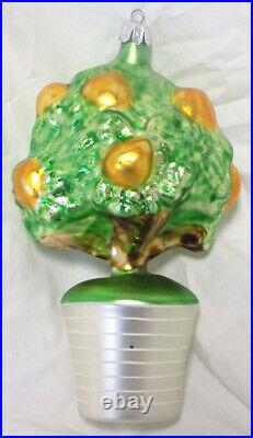 CHRISTOPHER RADKO CHRISTMAS ORNAMENT Pear Tree 1993 Limited Edition