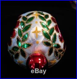 CHRISTOPHER RADKO Epiphany Reflector Spiral Ball Ornament 20th Anniversary