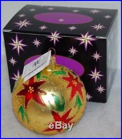 CHRISTOPHER RADKO HOLIDAY SPARKLE Christmas Ornament 93-144-0