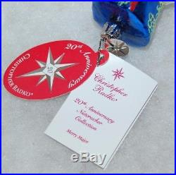 CHRISTOPHER RADKO MERRY MAJOR Christmas Ornament 1011600 20th ANIV NUTCRACKER