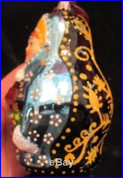 CHRISTOPHER RADKO Retired RARE 2004 KATRINA Glass Christmas Ornament NWT Poland