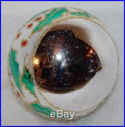CHRISTOPHER RADKO THE HOLLY Christmas Ornament 89-049-0 Ball with holly