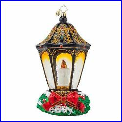 Christopher Radko 1017617 Christmas Light Lmtd Edit Candle in Dome Ornament