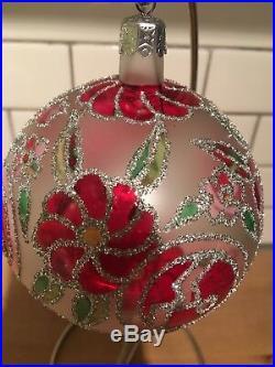 Christopher Radko 1992 92-159-0 Cabaret Tiffany Cabaret Ornament Retired Ball