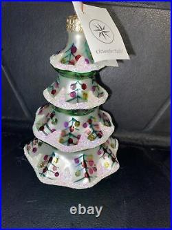 Christopher Radko 1992 Winter Tree Ornament in Orig Box