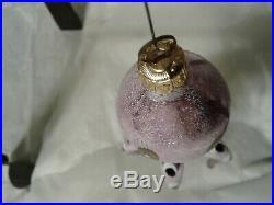 Christopher Radko 1993 Maxine Purple Octopus Christmas Ornament