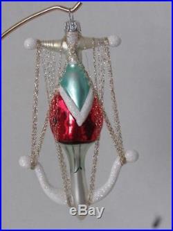 Christopher Radko 1994 Anchor Santa Ornament Retired Rare