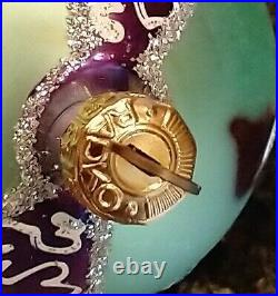 Christopher Radko 1995 Forever Lucy Autographed Ornament Santa withTree