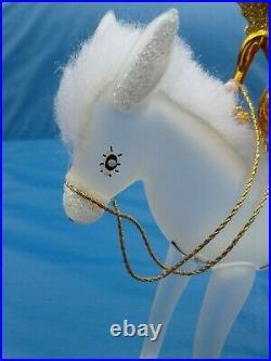 Christopher Radko 1997 BLESSED JOURNEY Christmas Ornament. ITALIAN