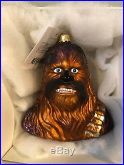 Christopher Radko 1998 Star Wars Ornaments. Lot of 4