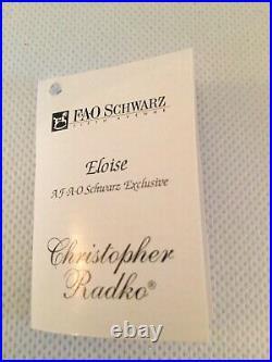 Christopher Radko 1999 FAO Schwarz ELOISE AT THE PLAZA Ltd Ed. #2062/2400