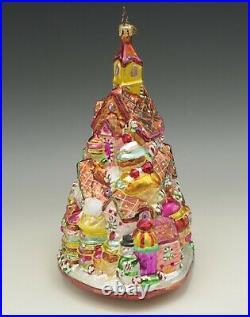 Christopher Radko 2002 Gingerbread Lane House Large Ornament 8.5 #1010209