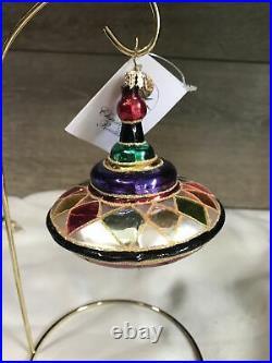 Christopher Radko 2003 Dazzle Top ornament rare