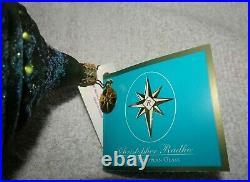 Christopher Radko 2006 Marshall Field's Clock Glass Christmas Tree Ornament