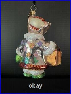 Christopher Radko 2006 Muffy Shopper Bloomingdales Ornament- Retired