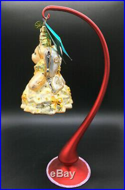 Christopher Radko 2007 Muffy Twinkle Fairy Ornament #1012641 with Tag & Stand