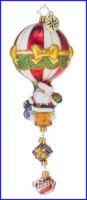 Christopher Radko Air Drop Limited Edition Christmas Ornament