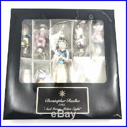 Christopher Radko And Snowy Makes Eight Christmas Holiday Ornament 95-169-0