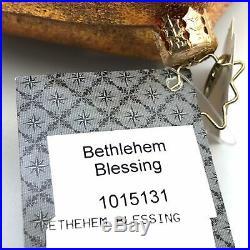 Christopher Radko Bethlehem Blessing Ornament Manger Christmas Holiday 10-1513-1
