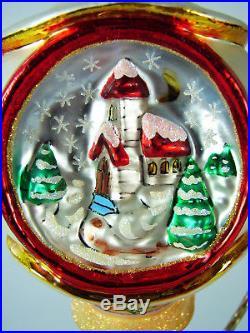 Christopher Radko CHRISTMAS MAGIC Polish Gorgeous Glass Ornament PERFECT