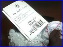 Christopher Radko CITIZEN CANE Christmas Ornament Italy 98-088-0 10 New NWT+Box