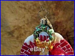Christopher Radko'CLAUS ENCOUNTERS' Ornament/Santa Peering Through Window
