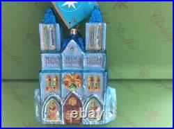 Christopher Radko Cathedral Spires Glass Ornament