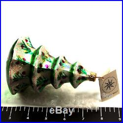 Christopher Radko Christmas Ornament Winter Tree 1992 92-101-2 NWT