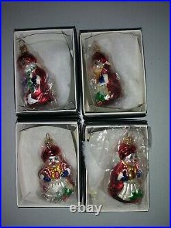 Christopher Radko Christmas Ornaments Lot of 55