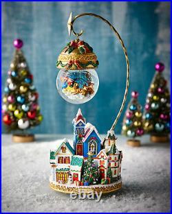 Christopher Radko Christmas Village Snow Globe ($189) withtax