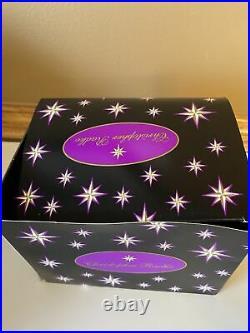 Christopher Radko Cinderella Castle Disney World Christmas Ornament with Box