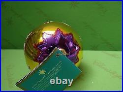 Christopher Radko Circus Purple Glass Ornament