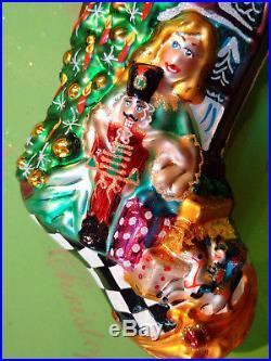 Christopher Radko Clara's Dream Stocking