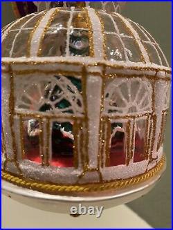 Christopher Radko Crystal Clear Ornament NWT