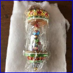 Christopher Radko Crystal Cracker Ornament SEALED New RARE