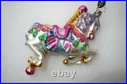 Christopher Radko DREAMY CAROUSEL Christmas Ornament 1011494 VERY RARE