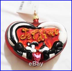 Christopher Radko Decorative Christmas Ornaments Collectible Lot of 15
