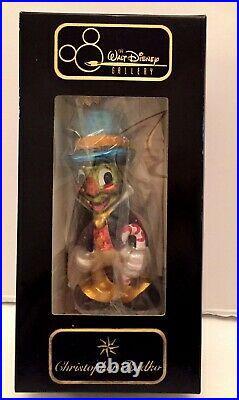 Christopher Radko Disney 1996 JIMINY CRICKET By Jiminy Ltd ed #6974/10k SEALED
