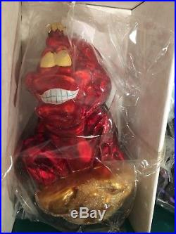 Christopher Radko Disney 1997 The Little Mermaid Ornaments 4 NEW withTag & Box