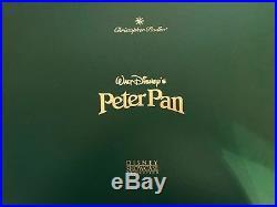 Christopher Radko Disney Christmas Peter Pan Glass Ornament set Ltd Ed. See desc