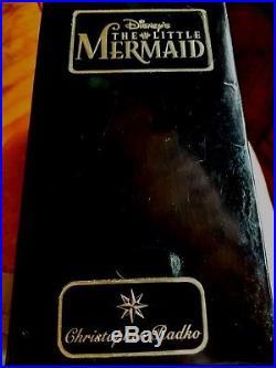 Christopher Radko//Disney FLOUNDER The Little Mermaid Ornament Beautiful 1997